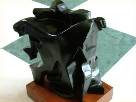 Juiblex (black soapstone) 2002