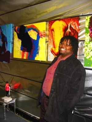Artomatic 2004 - Me With Works 2