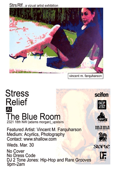 Stress Relief Flyer