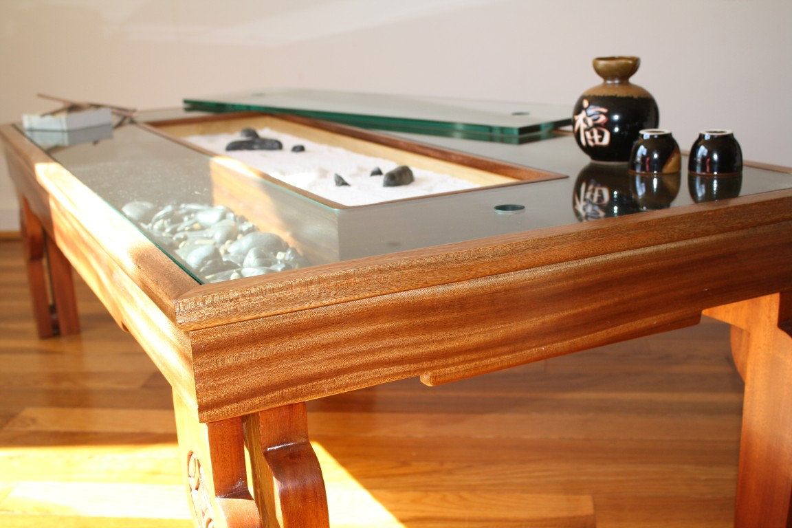 Zen garden coffee table zen garden coffee table at for Table zen garden