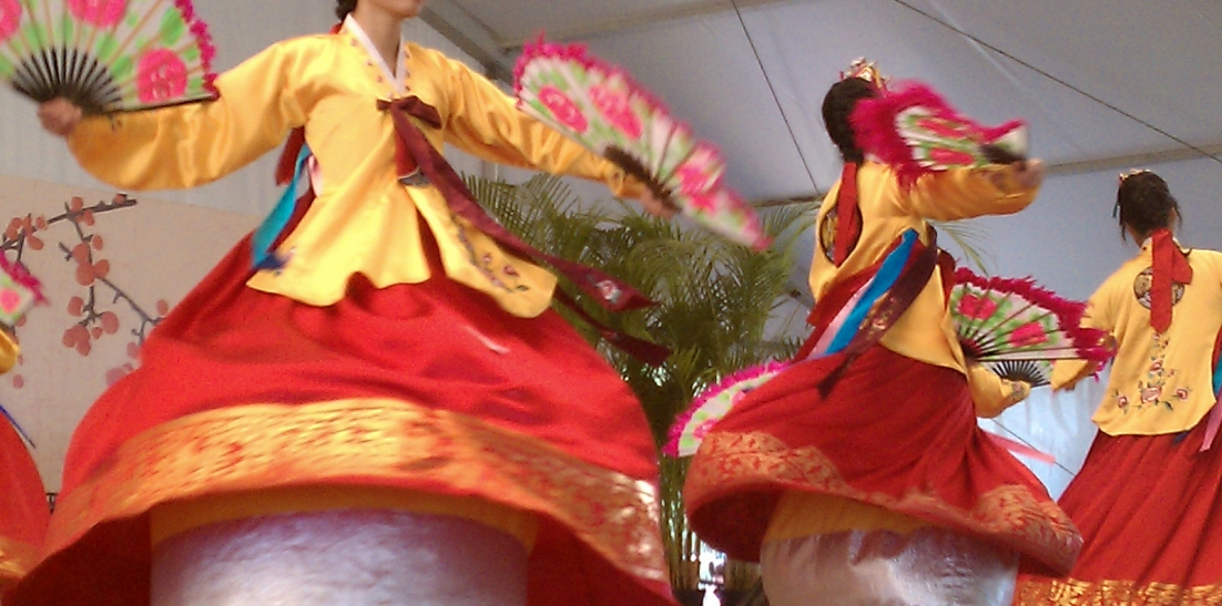 Summer 2012 - 'Folklife Dancers' (treated photograph)